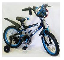 Велосипед детский Sigma Nexx 16 дюймов для мальчика, синий.