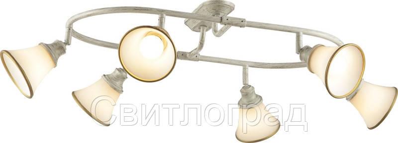 Люстра с Плафонами   Светильник Потолочный Altalusse INL-9286C-06 Ivory Gold