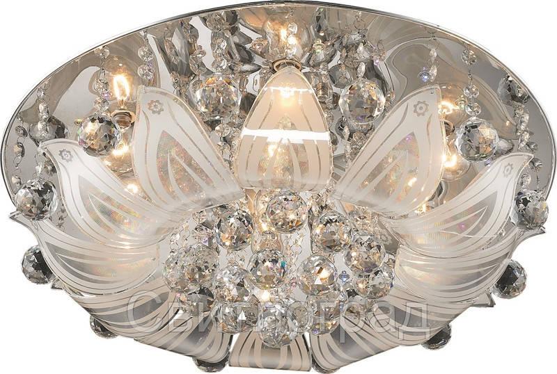 Светильник Потолочный с Led Подсветкой  с Плафонами  Altalusse LV180-07  RGB LED