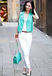 Женские цветные брюки ZARA