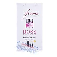 Набор подарочных женских духов Hugo Boss femme 45 мл