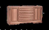 Комод класический двухдверный, уникальный, размером 182х48х88 см Натали 2Д 4Ш