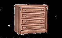 Комод класический, уникальный, на 4 ящика, размером992х48х88 см Натали 4Ш
