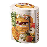 Чай фруктовый Basilur коллекция Фруктовый коктейль Карибский коктейль 100г