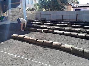 Підготовка грунту. Почвоподговка під рулонний і посівний газон.