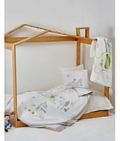Детский набор в кроватку для младенцев Karaca Home Happy Days белый (10 предметов)