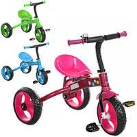 Трехколесный велосипед PROFI KIDS M 3253 со звонком