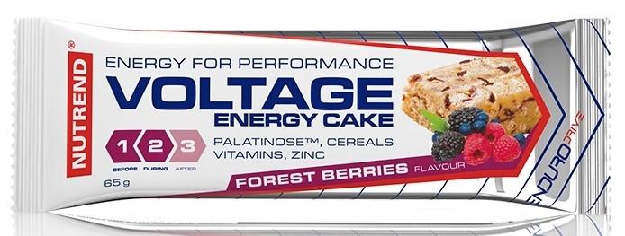 Энергетические батончики Nutrend Voltage Energy Cake 65g