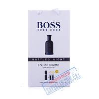 Подарочный набор духов Hugo Boss bottled night 45 мл