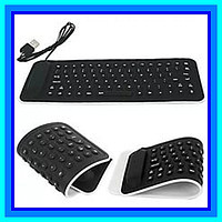 Силиконовая гибкая Клавиатура KEYBOARD X3
