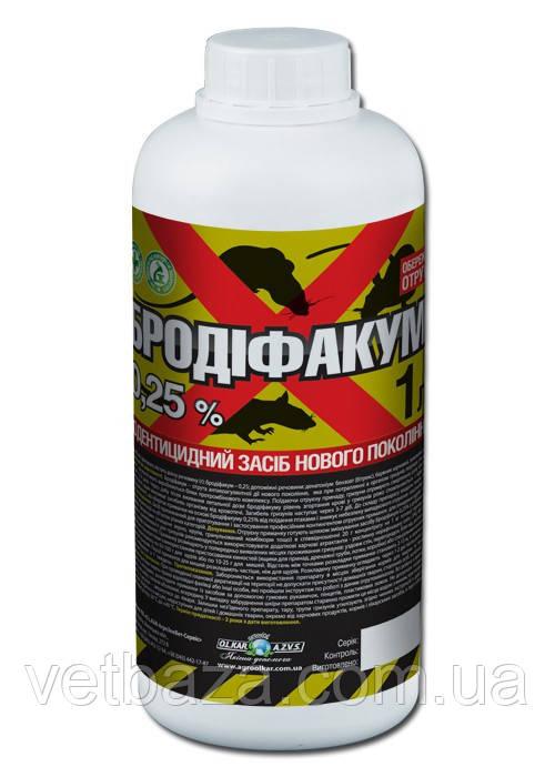 Бродифакум 0,25%, 1л (O.L.KAR.)