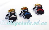 Велоперчатки текстильные (перчатки спортивные) Scoyco ВG13, 3 цвета: размер S-XXL