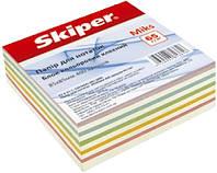 Бумага для записей SK-2312 85х85мм, 400листов клеенный МИКС уп30