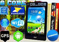 Планшет Acer Iconia One 7, IPS, GPS, Intel 6 core, 1Gb/8 Gb (ОРИГИНАЛ)