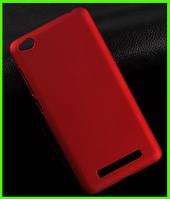 Ультратонкий дизайнерский чехол (бампер), прототип фирмы Nillkin для Xiaomi redmi 4a (красный)