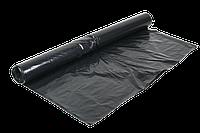Пленка строительная 1500 мм, 100мкм, (вторичка, черная или серая) ПЕТ  На метраж