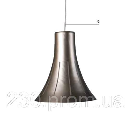 Подвесной светильник philips Spey grey темно-серый