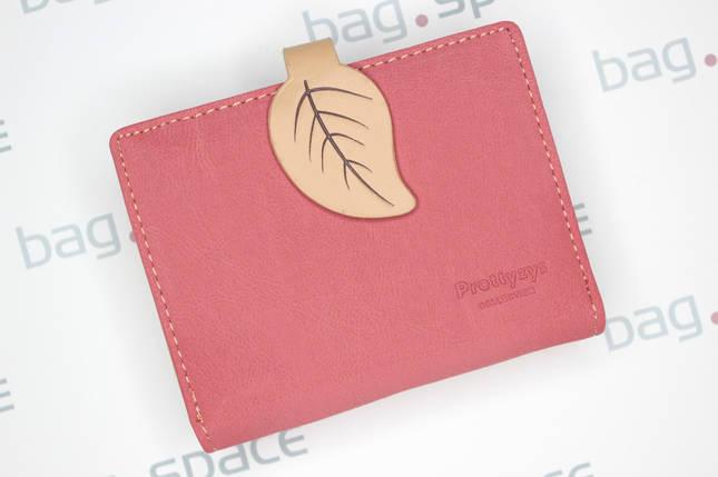 Кошелёк женский PrettyZys Leaf, розовый, фото 2