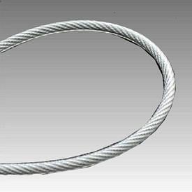 Трос в полиэт. оплетке 3 мм (2+1) DIN 3055 (6*7) оц. бухта 200 м new