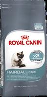 Royal Canin Hairball для взрослых кошек с эффектом выведения шерсти.
