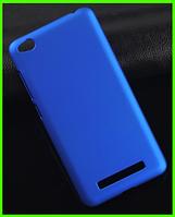 Ультратонкий дизайнерский чехол (бампер), прототип фирмы Nillkin для Xiaomi redmi 4a (синий)