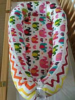 Кокон-люлька, гнездышко для младенцев в кроватку