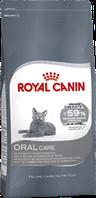 Royal Canin Oral Sensitive 8кг для взрослых кошек для профилактики образования зубного камня.
