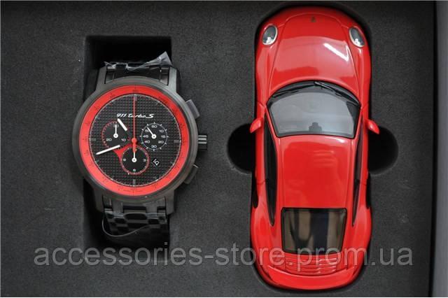 Набор из модели и хронографа Porsche 911 Turbo S Classic chronograph, set – Ltd. Ed.
