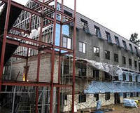 Реконструкция зданий, усиление несущих конструкций, строительство мансардных этажей, надстроек с последующей о
