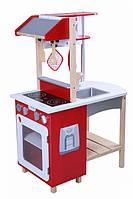 Двусторонняя детская деревянная кухня EcoToys 4252