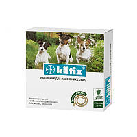 Ошейник 35см на 6 месяцев от блох и клещей, для собак и кошек Килтикс Байер Kiltix Bayer
