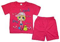 Детская одежда оптом. Костюм  трикотажный для девочки  р.2,3,4,5лет.