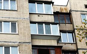 Балкон под ключ в панельном доме