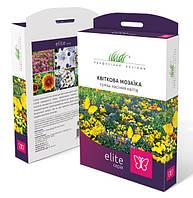 Цветочная мозаика Купить семена цветов смеси ELITE