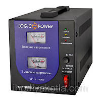 Стабилизатор напряжения Logicpower LPH-1200RV 840Вт, фото 1