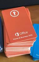 Microsoft Office для дома и бизнеса 2016 ключ - картка T5D-02376