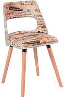 Стул Эрика деревянный с мягкой спинкой и сиденьем  для дома, HoReCa и офиса