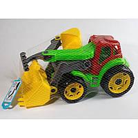 Трактор с двумя ковшами (9) 01758
