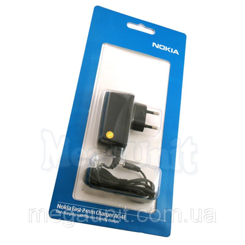 Сетевое зарядное устройство Nokia AC-4E (тонкий штекер)