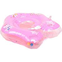 Круг для купания младенца 466-966 А (120) с ручками, 9 видов, в кульке, 35см