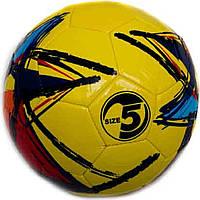 Мяч футбольный BT-FB-0144 PVC 320г 3цв.ш.к./60/