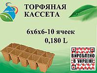 Торфяные кассеты 6х6х6