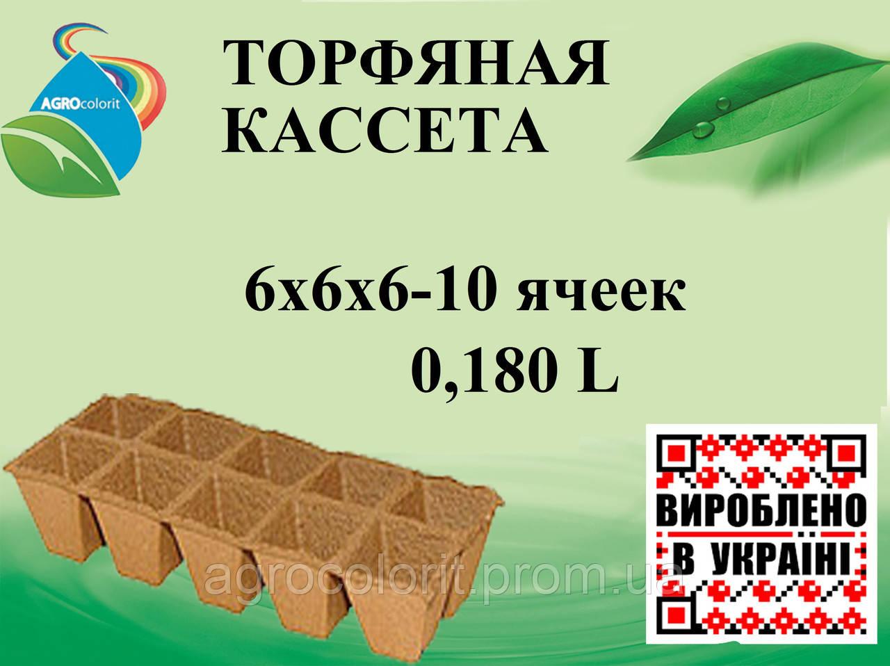 Торфяные кассеты 6х6х6 - Agrocolorit в Кременчуге