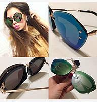 Солнцезащитные очки женские формы кошачий глаз