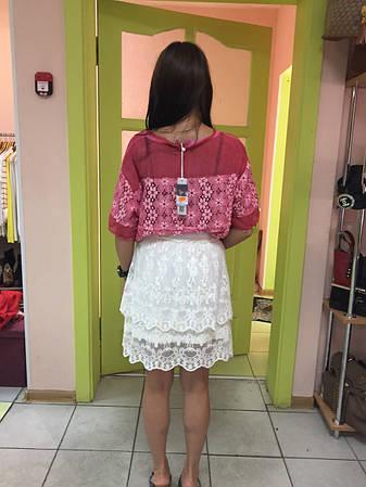 Блузка женская  цветная  летняя короткий рукав Rinascimento , фото 2