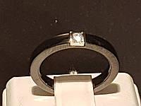 Серебряное кольцо с керамикой и фианитами. Артикул К2ФК/1008 17,1, фото 1