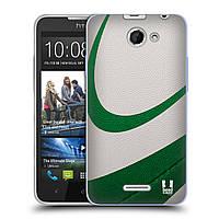 Силиконовый чехол для HTC Desire 516 узор Мяч для пляжного волейбола