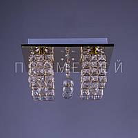 Хрустальная люстра с LED подсветкой на пульте управления P5-S0882/4/FG