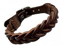 "Шкіряний браслет ""Scythe"" кожаный браслет на кнопках, браслет из кожи, різних кольорів, фото 1"