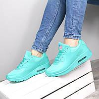 Кроссовки женские Nike Air Max мята, спортивная обувь